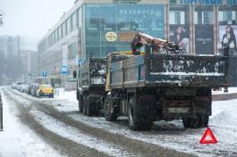 «Тонна мусора в минуту»: власти Калининграда показали новую машину для уборки города