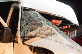 На трассе Калининград — Черняховск лоб в лоб столкнулись два автомобиля: погиб человек