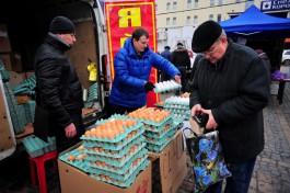 Росстат: Жители Калининградской области стали есть больше яиц и меньше молочных продуктов