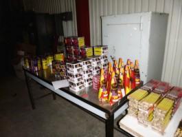 На границе в Советске задержали партию контрабандной пиротехники