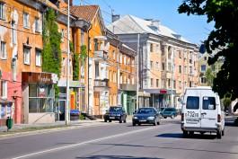 На проспекте Мира в Калининграде предлагают установить бинокли с видом на прошлое