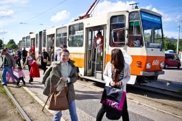 Ярошук пообещал «не оставлять у дороги» сотрудников трамвайного депо