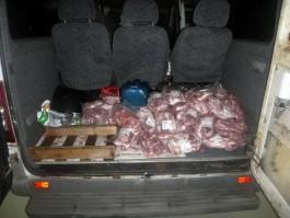 В Калининградскую область не пустили 150 кг свинины из Польши
