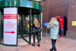 «Шопинг по документам»: как проверяют QR-коды на входах в торговые центры Калининграда