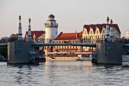 В ночь на 17 июля в Калининграде разведут два моста
