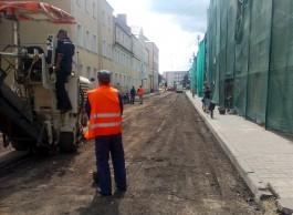 Прокуратура потребовала от властей Озёрска отремонтировать разбитую улицу
