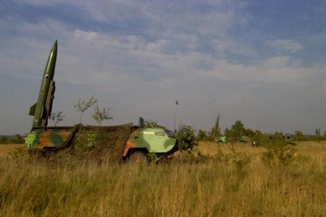 Расчеты комплексов «Точка-У» обучаются наносить ракетные удары вКалининградской области