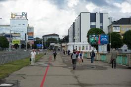 Нарисованную к ЧМ красную линию в Калининграде хотят превратить в туристический маршрут