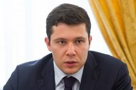 Алиханов: Вместо вырубленных придорожных аллей в регионе будут сажать новые