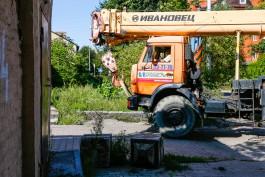 Компании депутатов Горсовета разрешили построить восьмиэтажку на месте бывшего военного городка