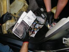 Калининградец лишился «Ситроена» из-за контрабанды сигарет
