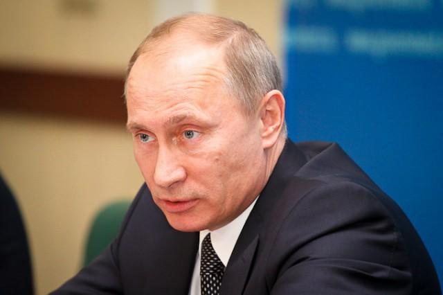 Путин назвал обвинения РФ вагрессии «разговорами впользу бедных»