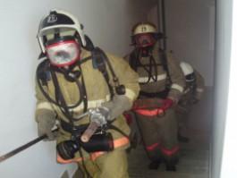 Пожарные спасли женщину из горящей квартиры в Нестерове