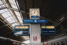 За месяц электронные билеты на поезда калининградского направления оформили 1500 пассажиров