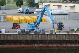 Пошлины на строительные материалы РФ блокируют работу порта в Эльблонге