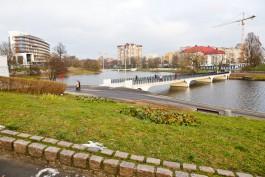Реконструкцию Нижнего озера в Калининграде не закончат в 2018 году