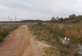 На реке Зеленоградке восстановили трёхкилометровую дамбу