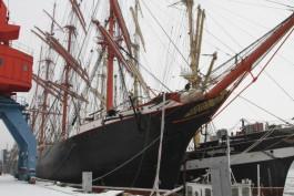В 2019 году проведут масштабную реконструкцию барков «Седов» и «Крузенштерн»