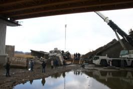 Следователи изъяли документы в офисе подрядчика, разбиравшего Берлинский мост