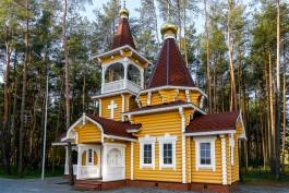 Архиепископ Серафим освятил храм на территории нового спорткомплекса «Автотор-Арена» в Калининграде