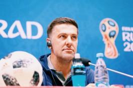 Младен Крстаич: Работу арбитров на матче в Калининграде надо разбирать в гаагском суде