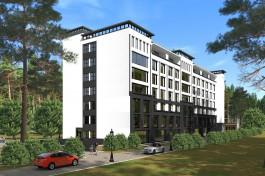 «Янтарный Баден Баден»: в центре Светлогорска начались продажи апартаментов в комплексе с уличным подогреваемым бассейном и spa-центром