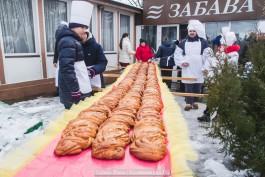 «12 метров праздника»: в Зеленоградске прошёл день кранцевского пирога