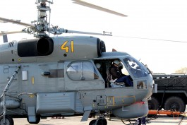 Вертолёты Балтфлота провели учения по уничтожению подводной лодки