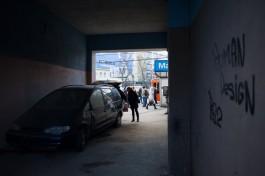 Россельхознадзор изъял польскую продукцию из автолавки в арке у гостиницы «Калининград»