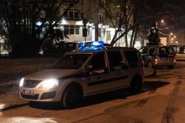 Калининградские полицейские устроили погоню за уличным грабителем