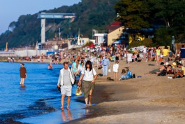 «Море тепла»: как калининградцы провожали лето в сентябре