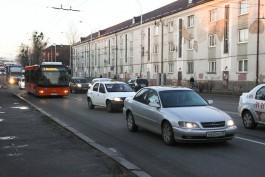 На время ремонта улицы Киевской в Калининграде около трамвайного депо сделают парковку