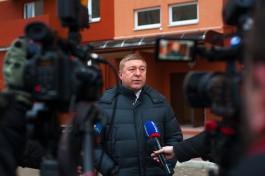 Ярошук: За две-три недели уберём песок после зимы с улиц Калининграда