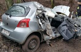 На трассе Калининград — Балтийск «Тойота» вылетела в кювет: пострадал пассажир
