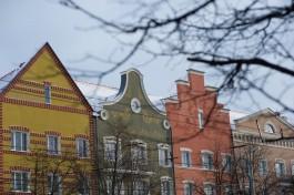 Власти планируют сделать подсветку домов на центральных улицах Калининграда