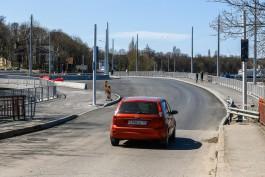В Пионерском реконструируют мост на подъезде к порту и отремонтируют дорогу в сторону Светлогорска