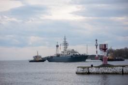 Бомбардировщики Балтфлота имитировали налёт на военные корабли
