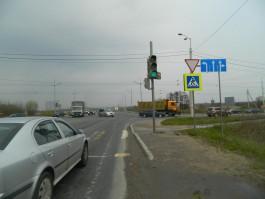 В Калининграде столкнулись «Лада» и «Шанкси»: пострадал 41-летний мужчина
