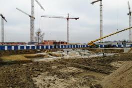В районе улицы Артиллерийской в Калининграде приступили к строительству детского сада на 185 мест
