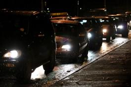 За три часа водители «насобирали» на улицах Калининграда девять аварий