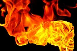 В Зеленоградском округе загорелся автомобиль с людьми