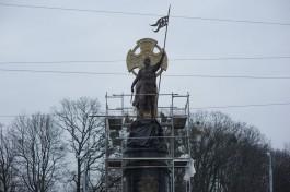 Из-за открытия памятника Невскому на площади Василевского движение по кольцу перекроют на 5-7 минут
