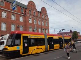 «Благодаря местным кулибиным»: трамвай PESA вернулся на свой маршрут в Калининграде