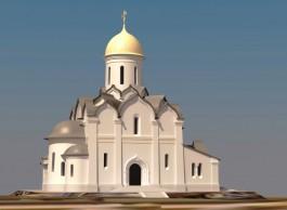 Епархия получила новое разрешение на строительство храма на площади Калинина