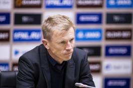 «Балтика» продлила контракт с главным тренером на два года