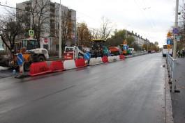 В выходные подрядчик планирует открыть последний участок улицы Горького
