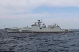 В Калининграде отложили передачу ВМФ России нового фрегата «Адмирал Эссен»
