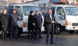 «Уникальный российский продукт»: МБУ «Чистота» передали семь автомобилей производства АВТОТОР