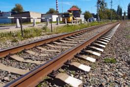 В Калининграде электричка сбила 24-летнего мужчину