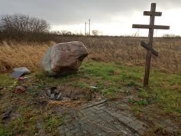 «Въехал в памятник и спрятал БМВ»: в Черняховске задержали мужчину, который скрылся с места ДТП